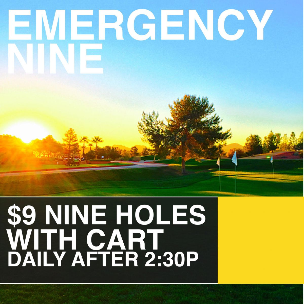 9 hole golf, only $9, emergency nine, vegas, las vegas, golf, las vegas golf deals, best of vegas, henderson golf, henderson golf deals, lake las vegas, $9